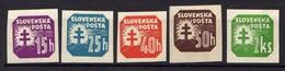 Slowakei / Slovakia, 1939, Mi 60; 62-64; 66 Y * [210618XVII] - Ungebraucht