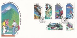 New Zealand 1994 Tourism FDC - FDC