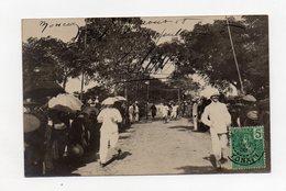 !!! INDOCHINE : TONKIN, CARTE PHOTO DE MONCAY DE 1908 - Viêt-Nam