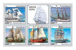 Guinea Bissau. 2018 Tall Ships. (403a) - Schiffe