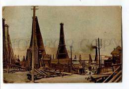 3035443 CAUCASUS Baku Petroleum Towers BIBI-EIBAT - Azerbaïjan