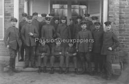 CARTE PHOTO ALLEMANDE  SPA    1918   VILLA  SERVICE DE TRANSMISSION ALLEMAND DE LA COMMISSION D'ARMISTICE - Spa