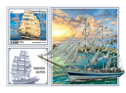 Guinea Bissau. 2018 Tall Ships. (403b) - Boten