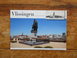 Postal Stationery, Vlissingen, Michiel De Ruyter, Tower, Windmill, Seagull - Postal Stationery