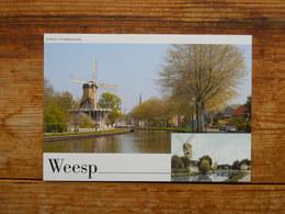 Postal Stationery, Weesp, Mill - Postal Stationery