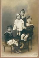 23 SAINT SULPICE Les  CHAMPS, ENFANTS CREUSOIS , Photo Venant Album Famille DESPLATS ,ST Sulpice Les Champs - Personnes Anonymes
