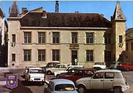 47  NERAC  -  L HOTEL DE VILLE  -  AUTOMOBILES  -  BEAU PLAN -  CPM 1960/70 - Nerac