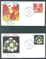 WALLIS - 30.5.1993 - 2 FDC'S - FETE DES MERES FLEURS FLOWERS - Yv  449-450 - Lot 17218 - FDC