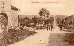 CPA - JEANMENIL (88) - Aspect De L'ancienne Route De St-Dié Au Début Du Siècle - Otros Municipios