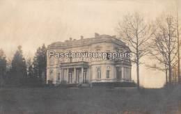 CARTE PHOTO ALLEMANDE  SPA   1918   CHATEAU DE LA FRAINEUSE  VILLA DU KAISER WILHELM II - Spa