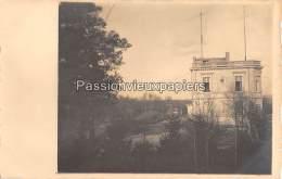 CARTE PHOTO ALLEMANDE  SPA   1918   CHATEAU DE LA FRAINEUSE  ?    SERVICE DE TRANSMISSIONS - Spa
