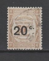 FRANCE / 1917 / Y&T TAXE N° 49 - Oblitéré 1918. SUPERBE ! - 1859-1955 Usados