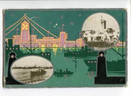 3037349 FORMOSA TAIWAN Pier & Docks View Vintage PC - China