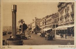 France 06 , Nice , Promenade Des Anglais , Circulee En 1945 - Squares