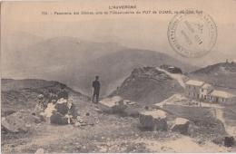 Bp - Cpa Panorama Des Dômes, Pris De L'Observatoire Du PUY De DOME, Vu Du Côté Sud (MTIL) - France