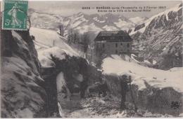 Bp - Cpa BAREGES Après L'avalanche Du 2 Février 1907 - Entrée De La Ville Etle Nouvel Hôtel (MTIL) - France