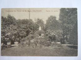 Pensionnat Des Soeurs De St. Marie Châtelet Partie Du Jardin Circulée - Châtelet