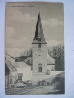 Court-St-Etienne L'Eglise Animée Phot. H. Bertels Circulée 1912 - Court-Saint-Etienne