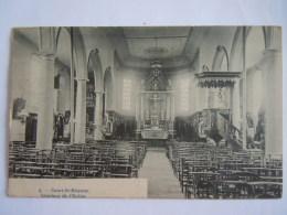Court-St-Etienne Intérieur De L'église Phot. H. Bertels Circulée 1912 - Court-Saint-Etienne