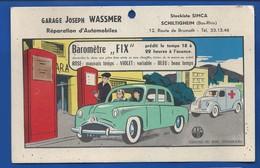 SCHILTIGHEIM    Garage Joseph WASSMER    12 Route De Brumath   Baromètre FIX - Autres Communes