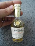 MIGNONNETTE SCOTCH WHISKY OLD SMUGGLER 43° Scotland 100% Scotch Wiskies Dumbarton Et Glasgow Depuis 1835 - Miniatures