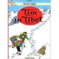 Hergé, Tintin Au Tibet En Allemand (Tim In Tibet) - Tim Und Struppi (Tintin)