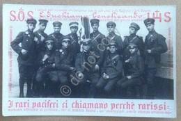Cartolina - Soldati Preti - Gruppo Di Benefattori Laici In Uniformi Militari - Non Classificati