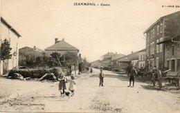 CPA - JEANMENIL (88) - Aspect Du Centre Dans Les Années 20 - Otros Municipios