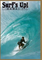 Surf's Up! - Surfing, Hawaii, Posted From Honolulu 2005 With Stamp - Honolulu