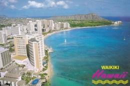 Waikiki Beach, Honolulu, Hawaii, Unused - Honolulu