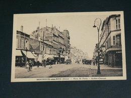 MONTREUIL    1930   /     RUES &   COMMERCES .....  EDITEUR - Montreuil