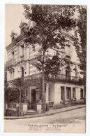 """CHATEL-GUYON--""""Au Yoghourt""""--Salon De Thé-Café Du Parc--Villa Cisterna--Nouveau Chalet--carte Publicitaire - Châtel-Guyon"""