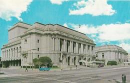 CARTE POSTALE ORIGINALE DE 9CM/14CM : SAN FRANCISCO MUNICIPAL OPERA HOUSE CALIFORNIA  USA - San Francisco