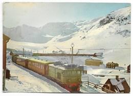NORGE : Myrdal, Bergensbanen...  Animé  Train... - Norvège