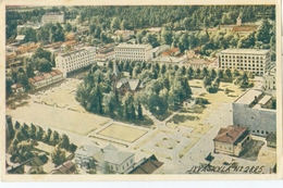 Jyväskylä 1947; Aerial View - Circulated. - Finland