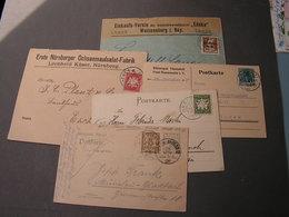Lot Brief Aus Bayern Ca. 1910 Z,b Unsleben , Neunsalz , Weissenburg - Bayern