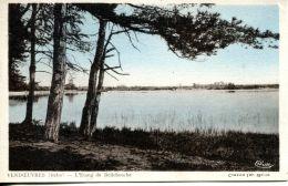 N°1564 A - Cpa Vendoeuvres -l'étang De Bellebouche- - Autres Communes