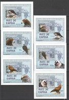 F1460 2007 MOCAMBIQUE FAUNA BIRDS AVES DE RAPINA 6 LUX BL MNH - Aigles & Rapaces Diurnes
