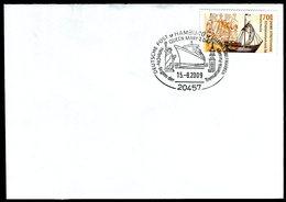 41104) BRD - Brief Mi 2558 - SoST 20457 HAMBURG Vom 15.08.2009 - QUEEN MARY 2 DAY - BRD