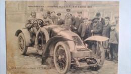 Grand Prix ACF Seine Inf. 1908  Callois Sur Voiture Renault - Autres Communes
