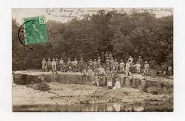 !!! INDOCHINE : TONKIN, CARTE PHOTO DE ZOL DONG (ENVIRONS DE MONCAY) DE 1909 - Viêt-Nam