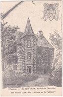 15. VIC-SUR-CERE. Castel Du Chevalier Des Huttes - France