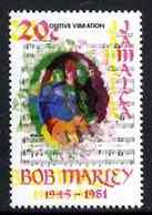 Jamaica 1981, Bob Marley, ERROR Colour - Jamaica (1962-...)