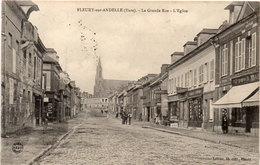 FLEURY SUR ANDELLE - La Grande Rue - L' Eglise  Société Générale   (107465) - France