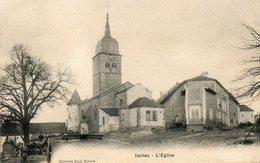 CPA - ISCHES (88) - Aspect Du Quartier De L'Eglise En 1905 - Francia