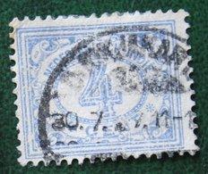 Read 4 Ct Cijfer NVPH 107 1912-1930 Gestempeld / Used INDIE / DUTCH INDIES - Netherlands Indies