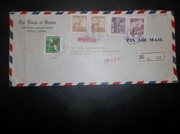 Korea, South, R.O.K.: 1961 Rgt. Air Cover To Frankfurt/Main (#LE3) - Korea, South