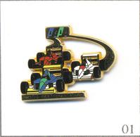 Pin's Automobile - Formule 1 / AAA - Club Larrousse F1. Est. Arthus Bertrand. T605-01 - F1