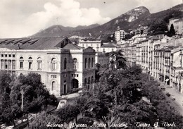 SALERNO - PIAZZA MATTEO LUCIANI - TEATRO G. VERDI - F/G - V: 1959 - Salerno
