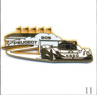 Pin's Automobile - 24 Heures Du Mans Peugeot 905. Est. Arthus Bertrand. T605-11 - Peugeot